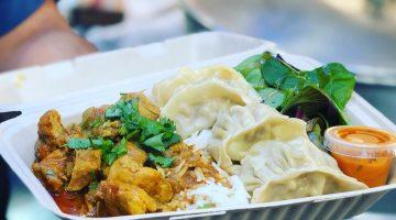 Nepali Chicken Curry Combo